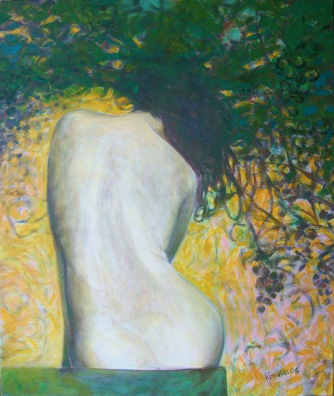 Krzysztof Krawiec - obrazy akryl - Winnica
