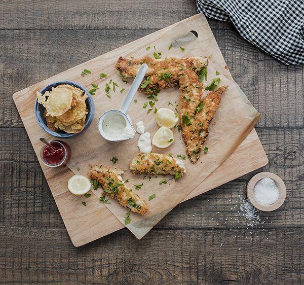 Don't wait till Friday to enjoy this crispy fish dish. Make this recipe. 15 mins serves 4.