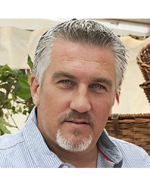 Paul Hollywood aka The Silver Fox with the piercing eyes...