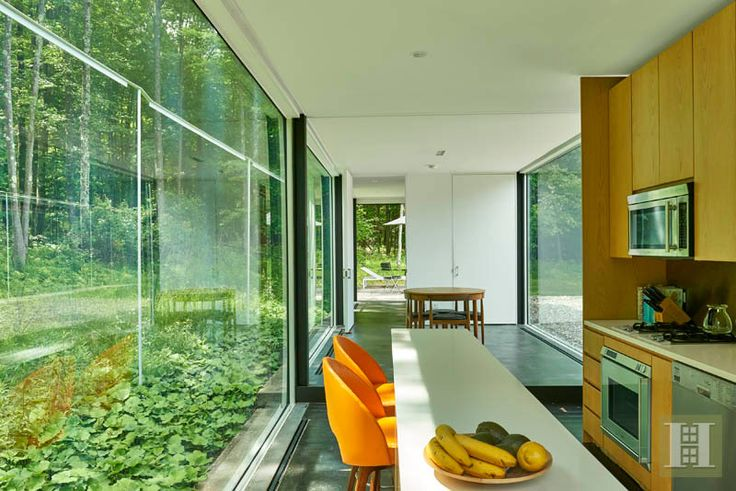 Glass House by Michael Bell,  Ghent,  New York