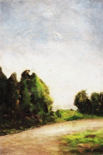 Paesaggio (1904) Carlo Carra