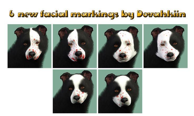mottled head markings - by Dova Creations