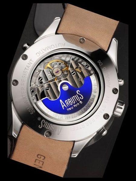 Arbutus Constancy Mens Automatic Watch AR0080WB | Ceasuri online la reducere de pret