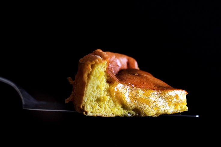 This Imploding Honey Custard Cake is dangerously delicious.