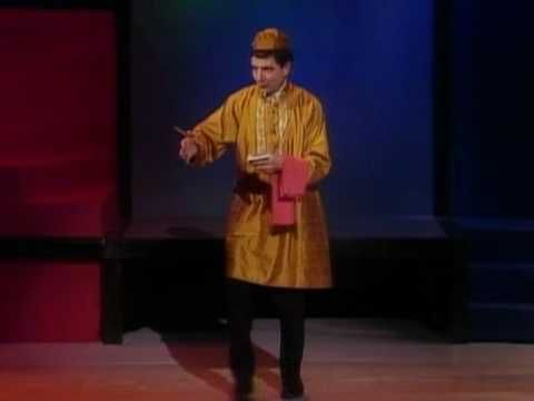 lol...watch as Rowan Atkinson (Mr. Bean) welcomes 9 drunk British into his Indian restaurant as he plays the role of an Indian waiter in this so so very very funny comedy sketch. You'll love this!! Hope you don't laugh...lol. Enjoy!! :))