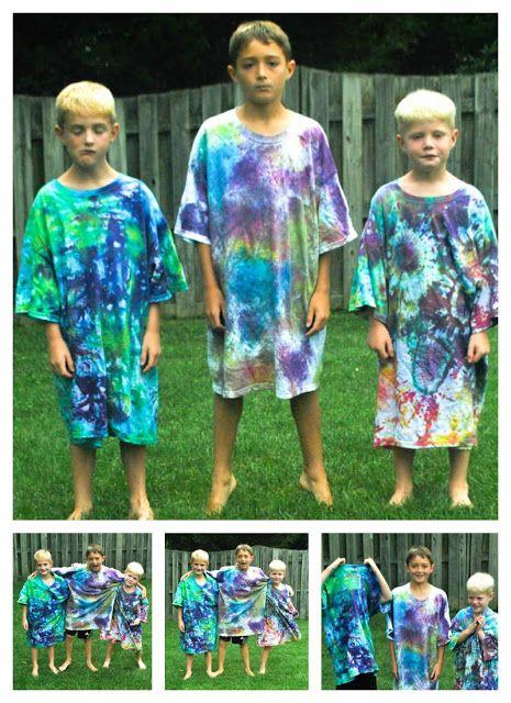 Boy, Oh Boy, Oh Boy Crafts: Tie Dye Tutorial: Sand Technique