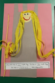 : Fairy Tale Fun!!! measuring rapunzel