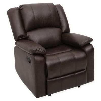 Relax A Lounger Paxton Recliner In Dark Brown In 2019 Leather Recliner Chair Leather Recliner Recliner