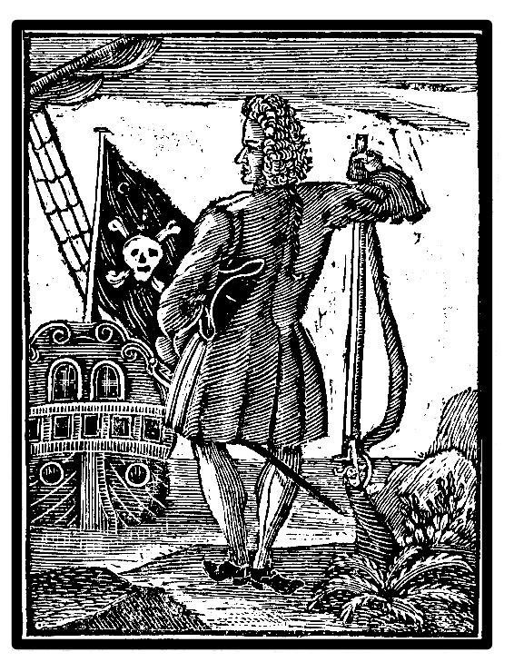 Stede Bonnet, the Gentleman Pirate, who left Barbados to pursue the life of a pirate on his ship, the Revenge. Bonnet was captured and hanged in 1718 in North Carolina, but he lives on in TEMPEST...