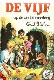 De Vijf van Enid Blyton! Ik heb ze allemaal gelezen. En ik heb de rode kaft serie compleet!