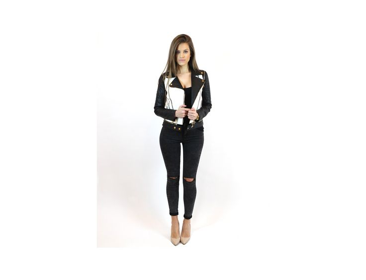 Black Skinny Knee Rip Jeans - #jeans & #trousers - Famevogue  #casual #style #trends #pants #haine #moda