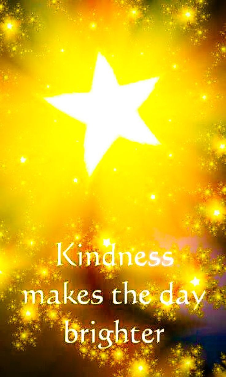 "Kind acts, words and deeds brighten the day for those on the recieving end, but most of all fill the heart with a wonderful ""feel good factor"" for those who say, give and do kindness to others. Lets all spread the world with little more kindness each day"