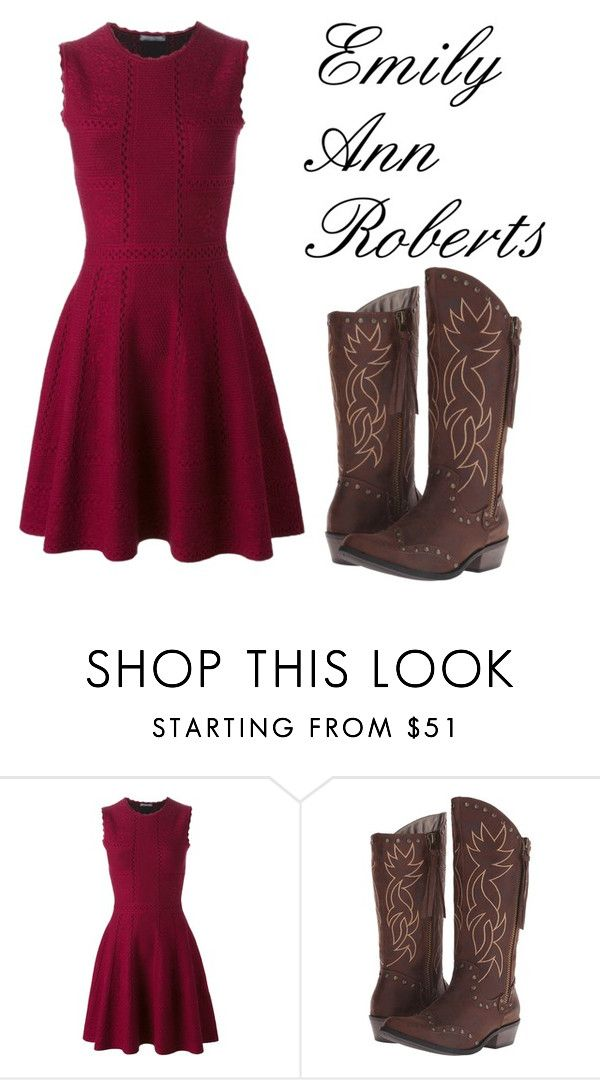 """""""The Voice collection (Emily Ann Roberts)"""" by maegenpointer ❤ liked on Polyvore featuring moda, Alexander McQueen ve Michael Antonio"""