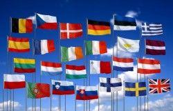 Vlaggen van de wereld - Bekijk het legwerkje op MontessoriNet