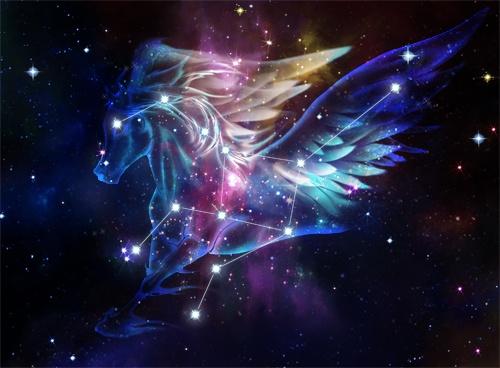 Image result for constelacion pegaso