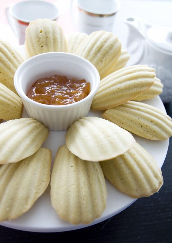 Food Makes Me Happy: It's Afternoon Tea Time! Coconut Madeleines, Recipe Courtesy of Ina Garten from the Food Network