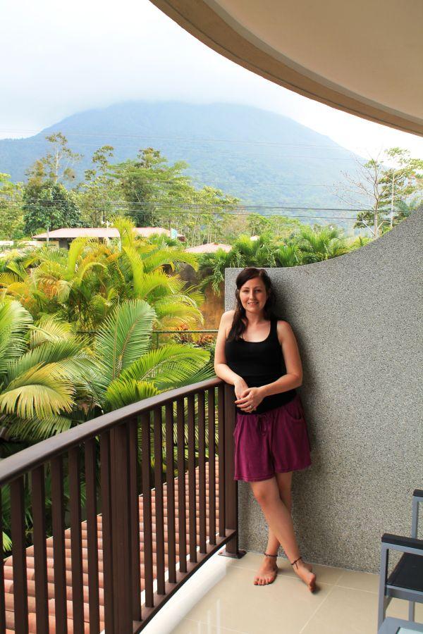 Nikki - at Costa Rica's Royal Corin (non-all-inclusive) Resort!
