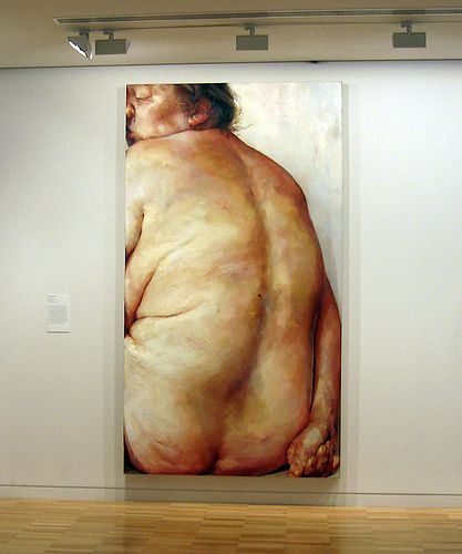 JENNY SAVILLE http://www.widewalls.ch/artist/jenny-saville/ #JennySaville #contemporaryart #YoungBritishArtists #contemporaryrealism #paintings