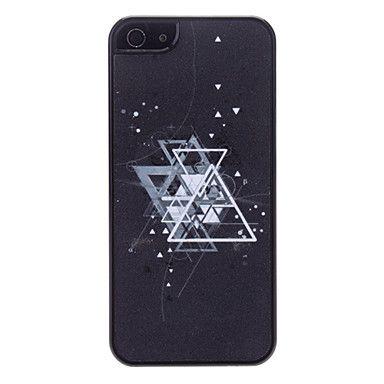 Triângulo Padrão Hard Case para iPhone 5 – BRL R$ 7,05