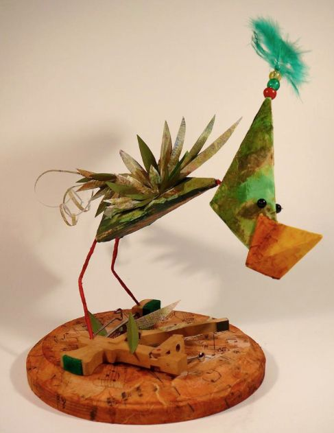 """Inspired from Wppuppet Theatre's show """"Finding my song, by bird"""""""