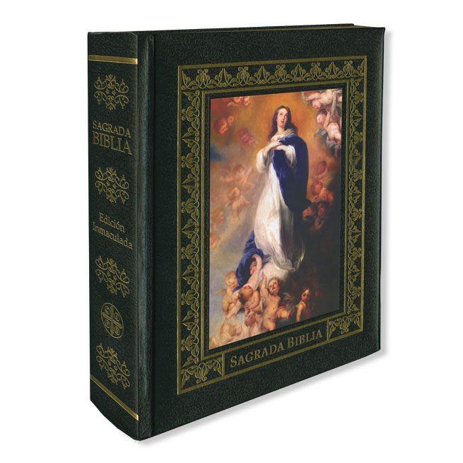 Un libro que no puede faltar en el hogar de cualquier cristiano. La Sagrada Biblia en una bellísima edición de lujo.