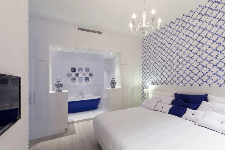 Delft suite in hotel van der Valk Nieuwerkerk.