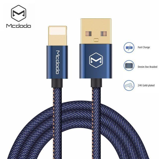 Denim Cowboy USB Fast Charging Cable