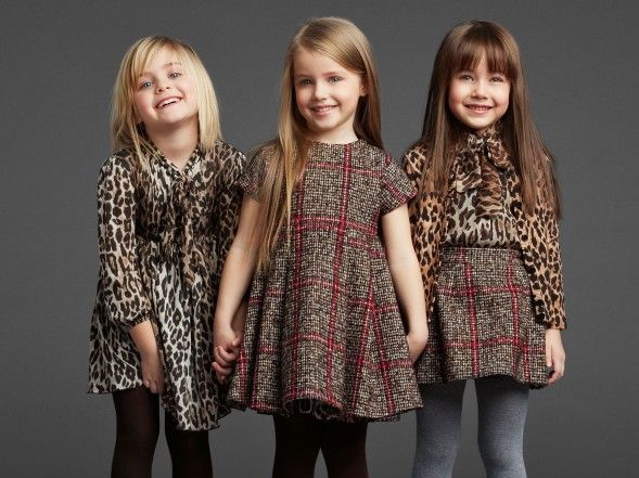 Dolce & Gabbana Kids winter collection
