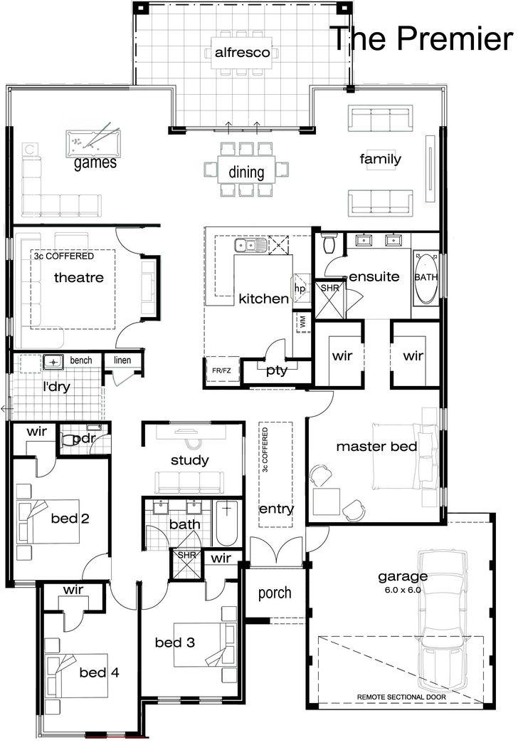 Best 25+ Single storey house plans ideas on Pinterest