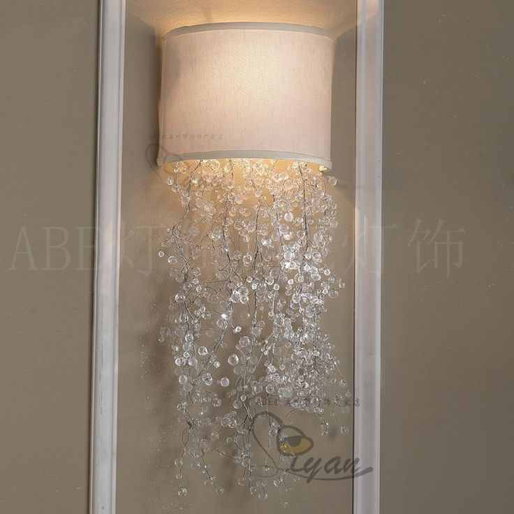Европейский и американский экспорт экспорт продажи фантазии принцесса красивый кристалл лампы Джейн европейской современной гостиной стены спальни лампа - Taobao