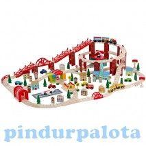 Járművek - Vonatok - Vonatkészlet 126 darabos
