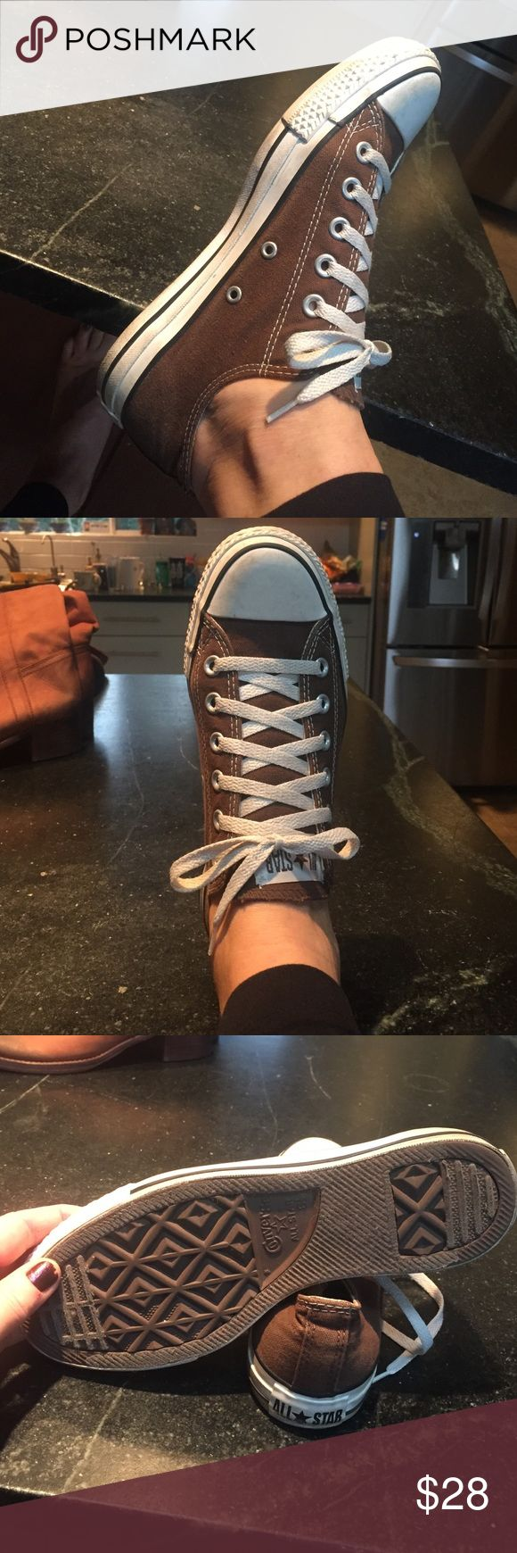 Brown converse all stars Brown converse all stars size 6.5 men's Converse Shoes Sneakers