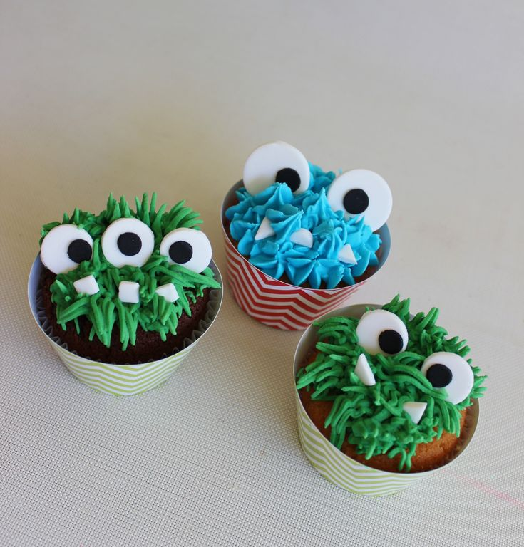 Monster Cupcakes  Violeta Glace