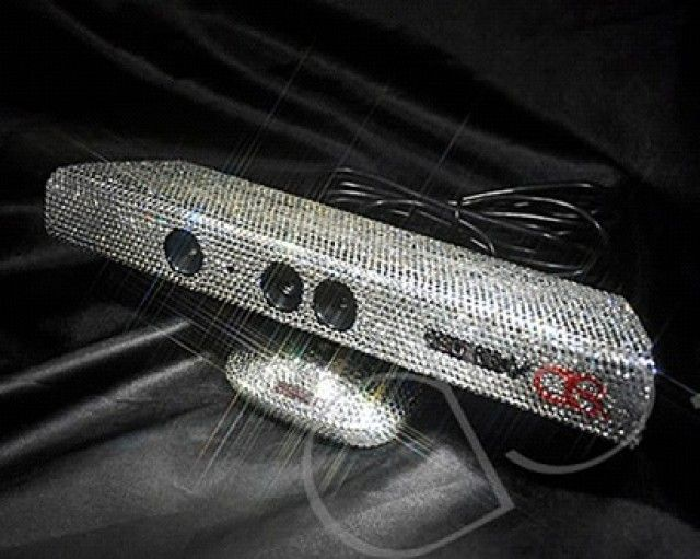 What's not to love about a blinged out Kinect sensor? #xbox