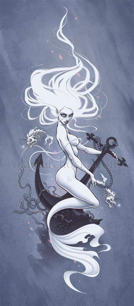 Mermaid by Aleksandra Marchocka / follow me on instagram -> @_InMyRemains_