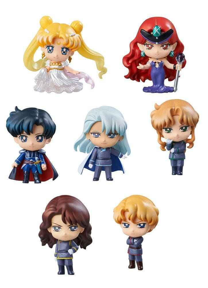 Sailor Moon Petit Chara Sammelfiguren 7er-Pack Dark Kingdom 6 cm