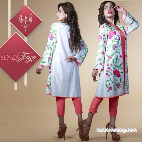 Top 9 Yasmeen Jiwa Eid Dresses 2015, Prices, Photos