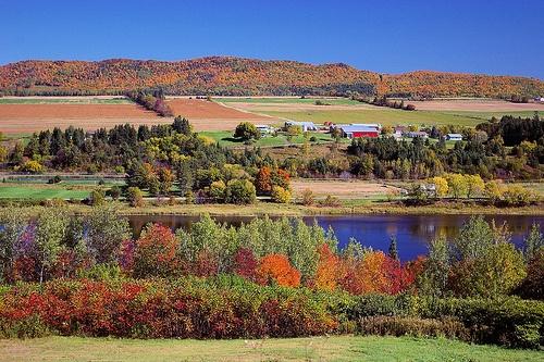 New Brunswick, Canada in the Fall