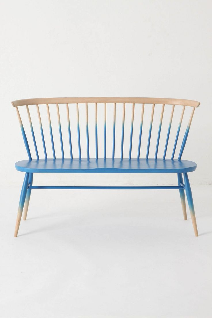 ombre finish: Ideas, Chair, Ombre Bench, Interior, Benches, Furniture, Diy, Design