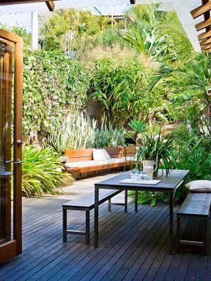 Garden outdoors pinterest en ville espaces for Garden idea et 700