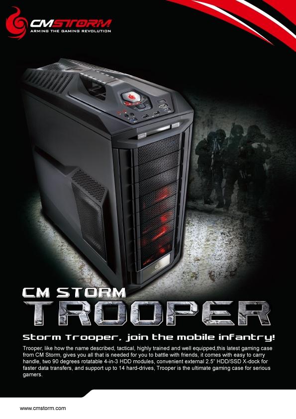 CM Storm Trooper for LAN Parties