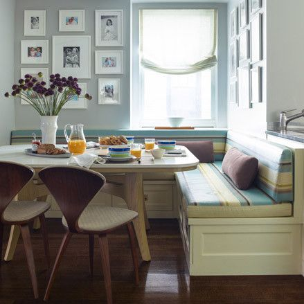 breakfast nook - casual dining room