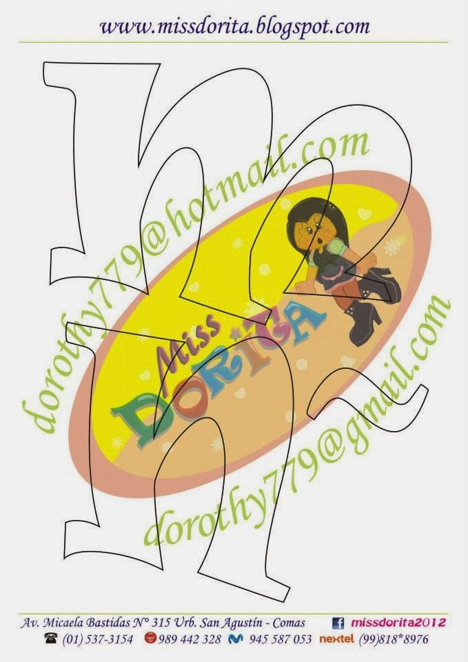 Miss Dorita: Abecedario N° 1
