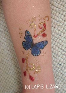 26 best gold permanent ink butterfly tattoo images on