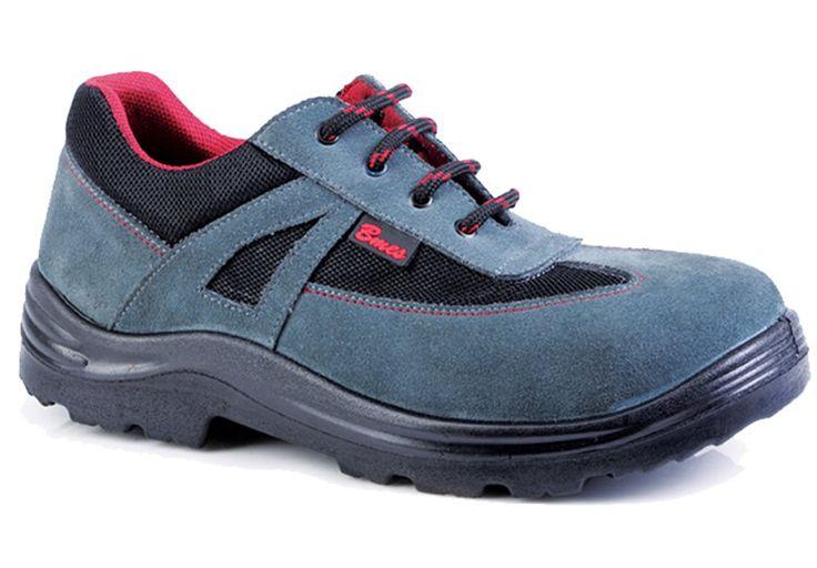 601 SÜET GRİ - İŞ GÜVENLİK AYAKKABILARI / Square İş Güvenlik Ayakkabıları