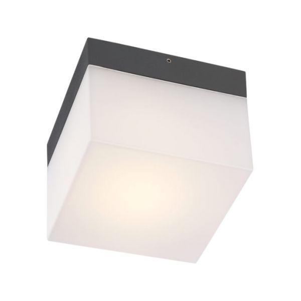 Corpuri de iluminat exterior APLICA PATRATA LED 6W IP65 CUBE 9445 REDO.9445
