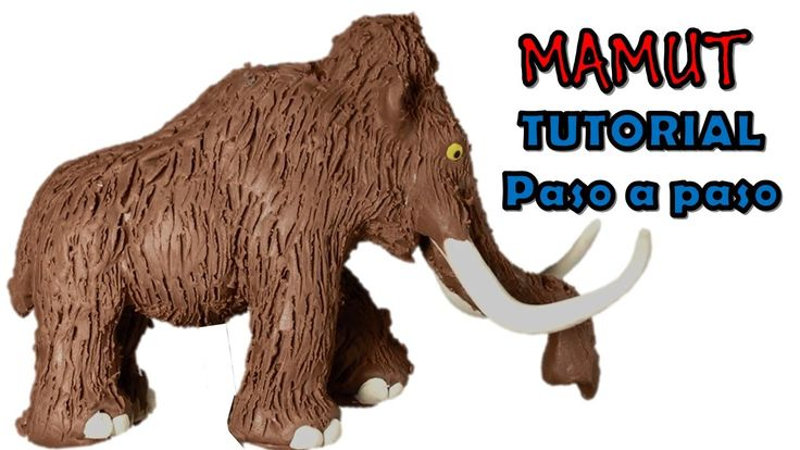 Como hacer un mamut de Plastilina / How to make a mammoth with clay