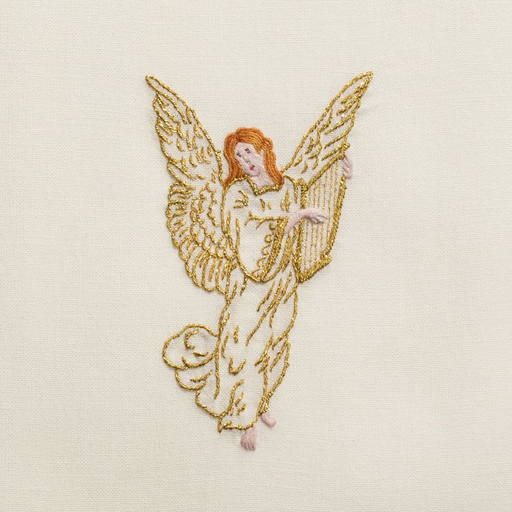 Golden Angel<br>Towel - Ivory Cotton