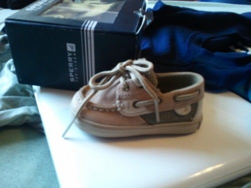 My Baby will have These: Sperrys