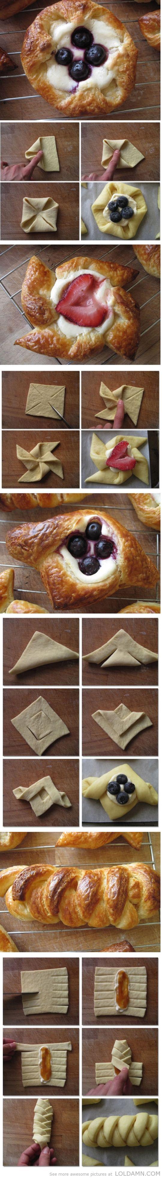 Cooking tips:Sourdough Danish Pastry Tutorials